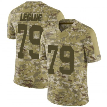 Youth Nike Green Bay Packers John Leglue Camo 2018 Salute to Service Jersey - Limited