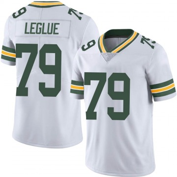 Youth Nike Green Bay Packers John Leglue White Vapor Untouchable Jersey - Limited