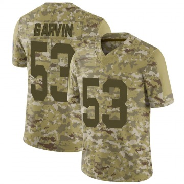 Youth Nike Green Bay Packers Jonathan Garvin Camo 2018 Salute to Service Jersey - Limited