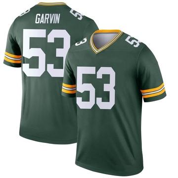 Youth Nike Green Bay Packers Jonathan Garvin Green Jersey - Legend