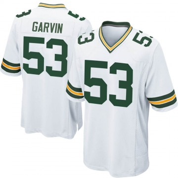 Youth Nike Green Bay Packers Jonathan Garvin White Jersey - Game