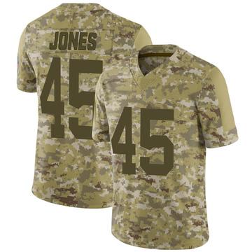 Youth Nike Green Bay Packers Jordan Jones Camo 2018 Salute to Service Jersey - Limited