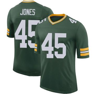 Youth Nike Green Bay Packers Jordan Jones Green 100th Vapor Jersey - Limited