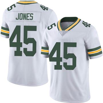 Youth Nike Green Bay Packers Jordan Jones White Vapor Untouchable Jersey - Limited