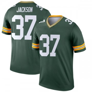 Youth Nike Green Bay Packers Josh Jackson Green Jersey - Legend