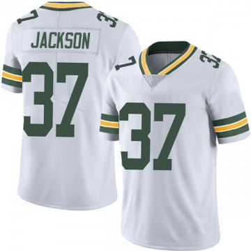 Youth Nike Green Bay Packers Josh Jackson White Vapor Untouchable Jersey - Limited