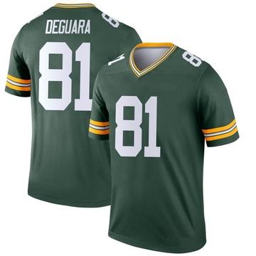 Youth Nike Green Bay Packers Josiah Deguara Green Jersey - Legend