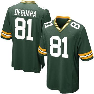 Youth Nike Green Bay Packers Josiah Deguara Green Team Color Jersey - Game