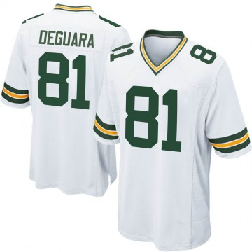 Youth Nike Green Bay Packers Josiah Deguara White Jersey - Game