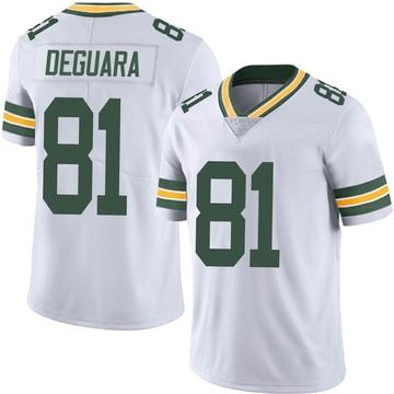 Youth Nike Green Bay Packers Josiah Deguara White Vapor Untouchable Jersey - Limited