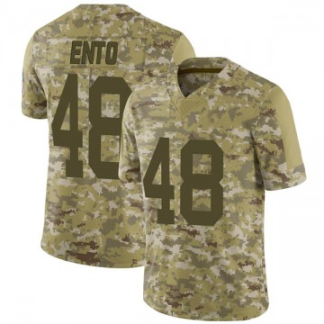 Youth Nike Green Bay Packers Kabion Ento Camo 2018 Salute to Service Jersey - Limited