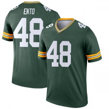 Youth Nike Green Bay Packers Kabion Ento Green Jersey - Legend