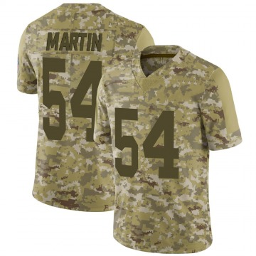 Youth Nike Green Bay Packers Kamal Martin Camo 2018 Salute to Service Jersey - Limited