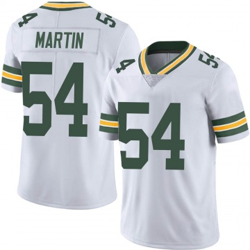 Youth Nike Green Bay Packers Kamal Martin White Vapor Untouchable Jersey - Limited