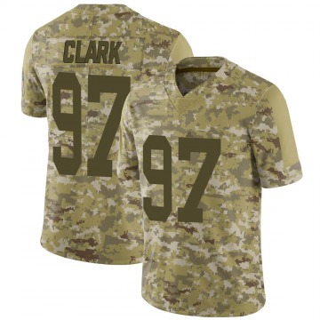 Youth Nike Green Bay Packers Kenny Clark Camo 2018 Salute to Service Jersey - Limited