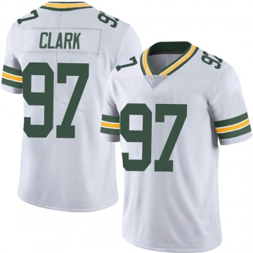 Youth Nike Green Bay Packers Kenny Clark White Vapor Untouchable Jersey - Limited