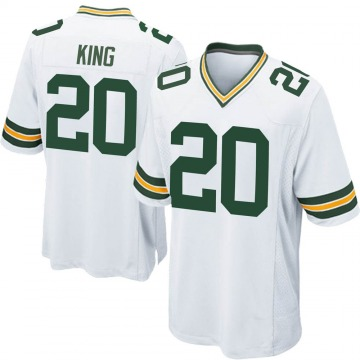 Youth Nike Green Bay Packers Kevin King White Jersey - Game