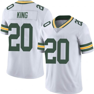 Youth Nike Green Bay Packers Kevin King White Vapor Untouchable Jersey - Limited