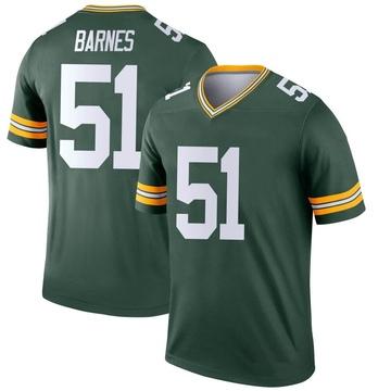 Youth Nike Green Bay Packers Krys Barnes Green Jersey - Legend