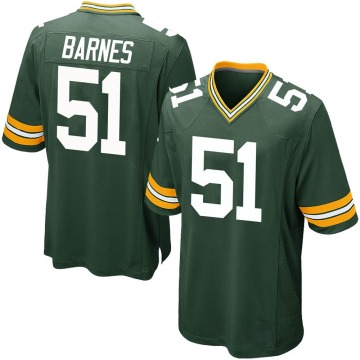 Youth Nike Green Bay Packers Krys Barnes Green Team Color Jersey - Game