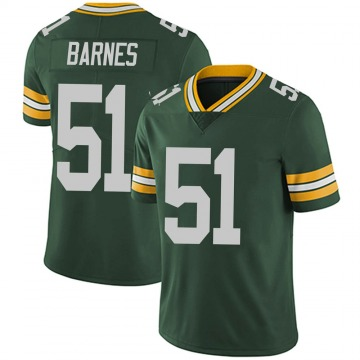 Youth Nike Green Bay Packers Krys Barnes Green Team Color Vapor Untouchable Jersey - Limited