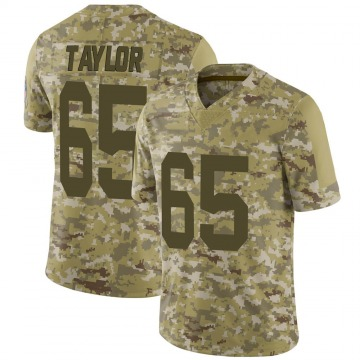 Youth Nike Green Bay Packers Lane Taylor Camo 2018 Salute to Service Jersey - Limited