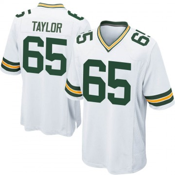 Youth Nike Green Bay Packers Lane Taylor White Jersey - Game