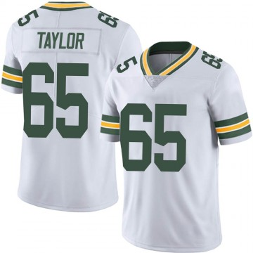 Youth Nike Green Bay Packers Lane Taylor White Vapor Untouchable Jersey - Limited