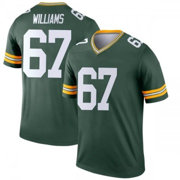 Youth Nike Green Bay Packers Larry Williams Green Jersey - Legend