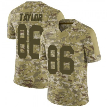 Youth Nike Green Bay Packers Malik Taylor Camo 2018 Salute to Service Jersey - Limited