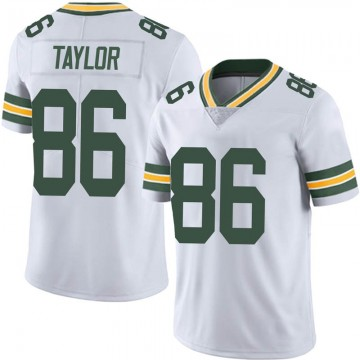 Youth Nike Green Bay Packers Malik Taylor White Vapor Untouchable Jersey - Limited