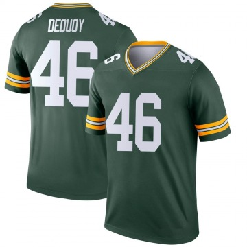 Youth Nike Green Bay Packers Marc-Antoine Dequoy Green Jersey - Legend