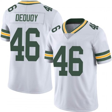 Youth Nike Green Bay Packers Marc-Antoine Dequoy White Vapor Untouchable Jersey - Limited
