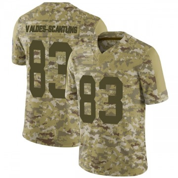 Youth Nike Green Bay Packers Marquez Valdes-Scantling Camo 2018 Salute to Service Jersey - Limited