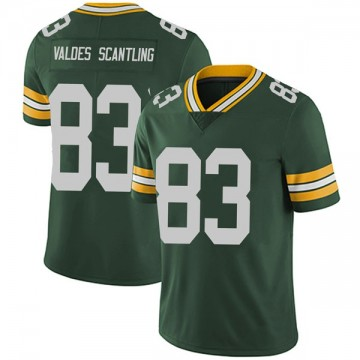 Youth Nike Green Bay Packers Marquez Valdes-Scantling Green Team Color Vapor Untouchable Jersey - Limited