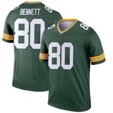 Youth Nike Green Bay Packers Martellus Bennett Green Jersey - Legend