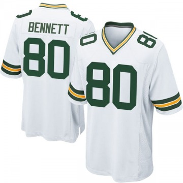Youth Nike Green Bay Packers Martellus Bennett White Jersey - Game