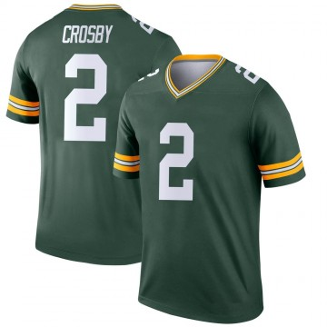 Youth Nike Green Bay Packers Mason Crosby Green Jersey - Legend