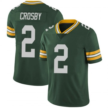 Youth Nike Green Bay Packers Mason Crosby Green Team Color Vapor Untouchable Jersey - Limited