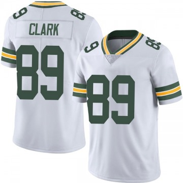 Youth Nike Green Bay Packers Michael Clark White Vapor Untouchable Jersey - Limited