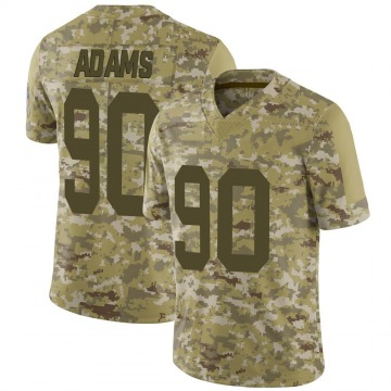 Youth Nike Green Bay Packers Montravius Adams Camo 2018 Salute to Service Jersey - Limited