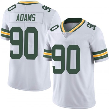 Youth Nike Green Bay Packers Montravius Adams White Vapor Untouchable Jersey - Limited