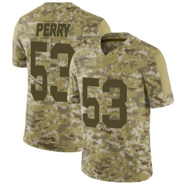 Youth Nike Green Bay Packers Nick Perry Camo 2018 Salute to Service Jersey - Limited