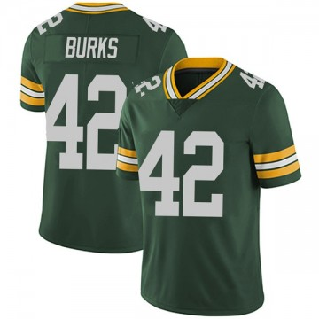 Youth Nike Green Bay Packers Oren Burks Green Team Color Vapor Untouchable Jersey - Limited