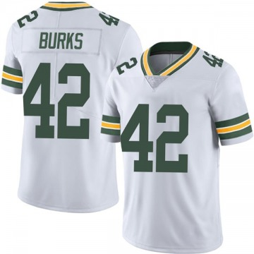 Youth Nike Green Bay Packers Oren Burks White Vapor Untouchable Jersey - Limited