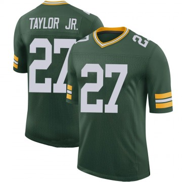 Youth Nike Green Bay Packers Patrick Taylor Jr. Green 100th Vapor Jersey - Limited