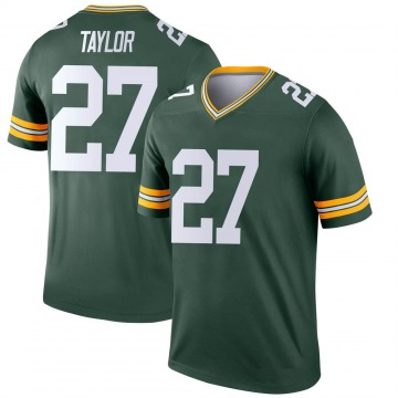 Youth Nike Green Bay Packers Patrick Taylor Jr. Green Jersey - Legend