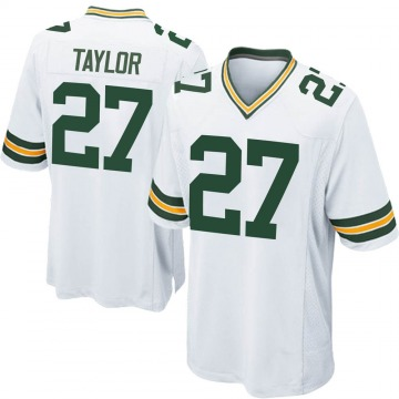 Youth Nike Green Bay Packers Patrick Taylor Jr. White Jersey - Game