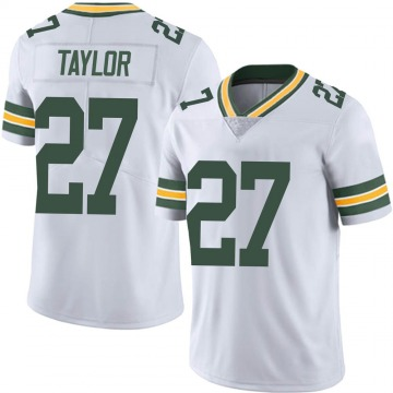 Youth Nike Green Bay Packers Patrick Taylor Jr. White Vapor Untouchable Jersey - Limited