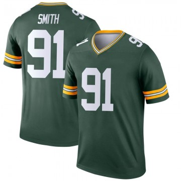 Youth Nike Green Bay Packers Preston Smith Green Jersey - Legend